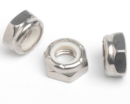 Stainless Steel Nylon Insert Nuts Thin Type