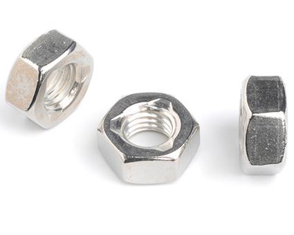Stainless Steel Allmetal Self Locking Nuts