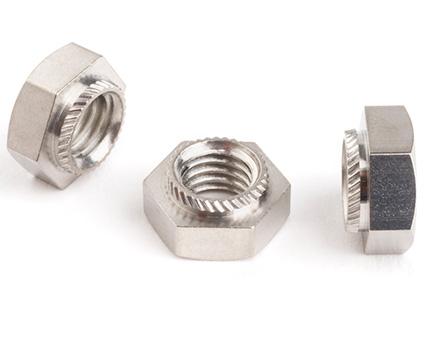 Stainless Steel Hexagon Insert Press Nuts