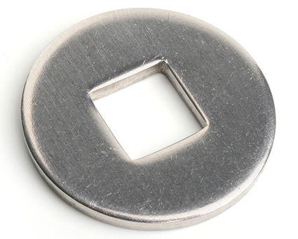 Stainless Steel Wood Construction Washers Square Hole