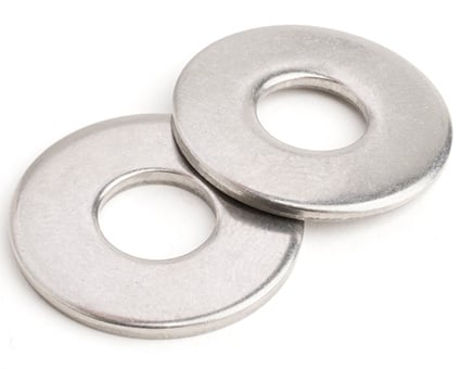Stainless Steel AFNOR Flat Washers NFE 25-514 Type L