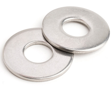 Stainless Steel Table 3 Light Flat Washers BS3410