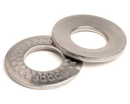 Stainless Steel Z Serrated Conical Spring Washer Type M