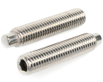 Stainless Steel Socket Set Screws Dog Point