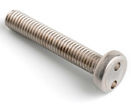Stainless Steel 2Hole Pan Screws