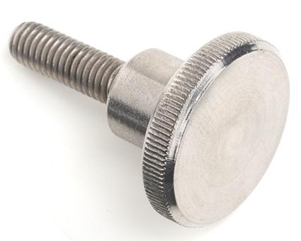 Stainless Steel Knurled Thumb Screws